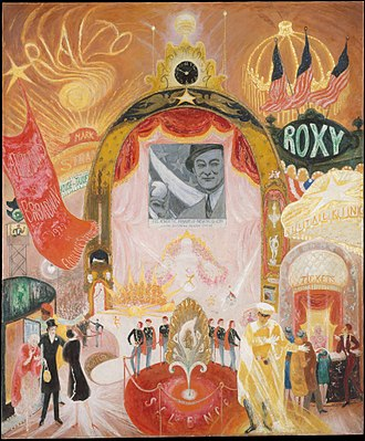 Florine Stettheimer - Image: The Cathedrals of Broadway MET DT11556