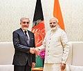 The Chief Executive of Afghanistan, Mr. Abdullah Abdullah calls on the Prime Minister, Shri Narendra Modi, in New Delhi on September 28, 2017.jpg