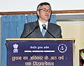 The Chief Minister, Jammu & Kashmir, Shri Omar Abdullah delivering the valedictory address, at the 8th Annual Convention of the Central Information Commission, in New Delhi on September 03, 2013.jpg