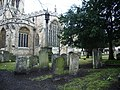 The Church of St Paul's, Bedford, Graveyard - geograph.org.uk - 646209.jpg