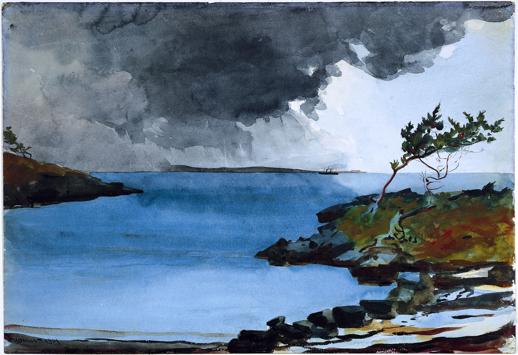 File:The Coming Storm by Winslow Homer, 1901.png ...