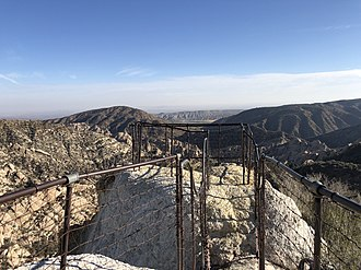 Devil's Punchbowl (Angeles National Forest) - The Devil's Chair at Devil's Punchbowl Park.