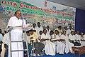 The Food Minister of Tamil Nadu, Shri A.V. Velu addressing at the Bharat Nirman Public Information Campaign at Arani, Tiruvannamalai district, Tamil Nadu on August 27, 2008.jpg