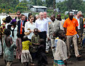 The Foreign Secretary and Angelina Jolie visit Lac vert camp.jpg