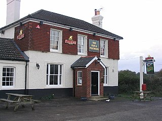 Southrope village in United Kingdom