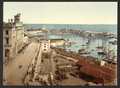 The Harbor and Admiralty, Algiers, Algeria WDL2452.png