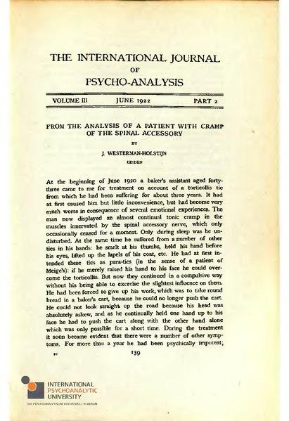 File:The International Journal of Psycho-Analysis III 1922 2.djvu