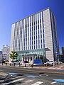 The Main Office of Toyota Shinkin Bank, Motoshiro-cho Toyota 2018.jpg