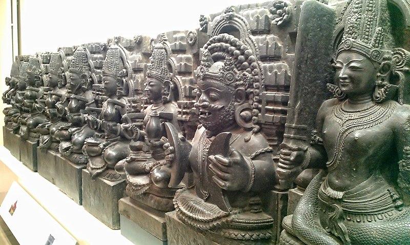 File:The Nine Planets - Orissa, India, 13th Century - British Museum.jpg