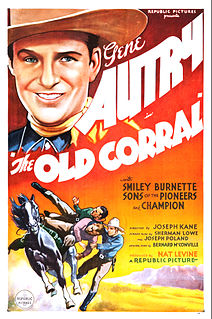 <i>The Old Corral</i> 1936 American Western film directed by Joseph Kane