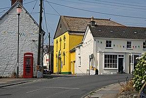 Probus, Cornwall - Image: The Old Methodist Church, Probus geograph.org.uk 197343