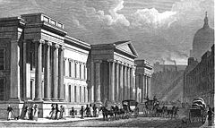 The Post Office in St Martin le Grand by Thomas Shepherd (late 1820s).jpg