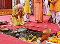 The Prime Minister, Shri Narendra Modi performing Bhoomi Pujan at 'Shree Ram Janmabhoomi Mandir', in Ayodhya, Uttar Pradesh on August 05, 2020.jpg