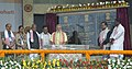 The Prime Minister, Shri Narendra Modi unveiling the Foundation Stone of AIIMS (All India Institute of Medical Sciences), Guwahati, in Assam (1).jpg