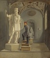The Sculptor Fogelberg's Studio in Rome (Carl Stefan Bennet) - Nationalmuseum - 20947.tif
