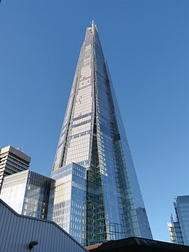 The Shard in 2014