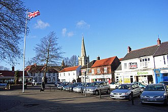 Hessle - The Square in January 2007