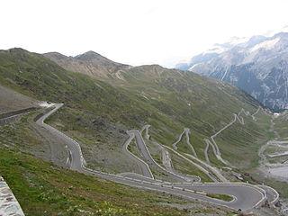 Stelvio Pass mountain pass