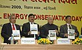The Union Power Minister, Shri Sushilkumar Shinde releasing the book at the National Energy Conservation Day function, in New Delhi on December 14, 2009.jpg