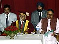 """The Vice President, Mohammad Hamid Ansari at the """" Dismissal Ceremony of the St. Stephens' College"""" in New Delhi on March 15, 2008.jpg"""