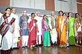 The Vice President, Shri Mohd. Hamid Ansari with the awardees of the Women Leprosy Awards, in Pune, Maharashtra on April 10, 2013. The Governor of Maharashtra, Shri K. Sankaranarayanan and other dignitaries are also seen.jpg