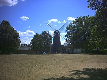 English: The Windmill, Windmill Gardens, Brixton.