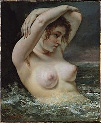 Gustave Courbet: The Woman in the Waves