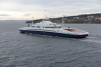 Horten - Ferries cut across the Oslo Fjord, connecting Horten and Moss.