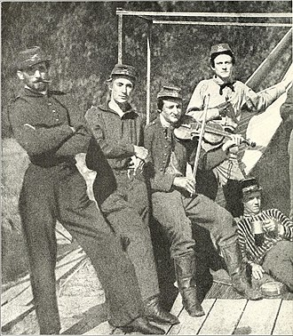 141st Field Artillery Regiment - Civil War service