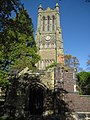 The tower and ruins of Christ Church, Crewe - geograph.org.uk - 1546914.jpg