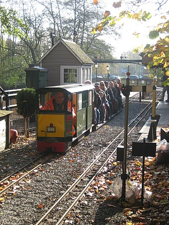 """Kingsbury Water Park - 7¼"""" gauge ridable miniature railway"""