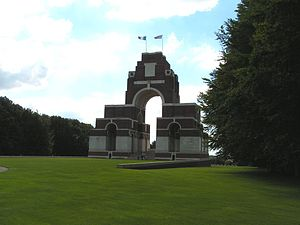 Thiepval - Thiepval Memorial to the Missing of the Somme