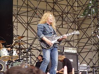 Gods of Metal - John Sykes with Thin Lizzy the Monsters of Rock Festival Milan, Italy 2007