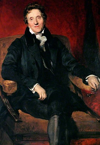John Soane - Portrait painted by Thomas Lawrence