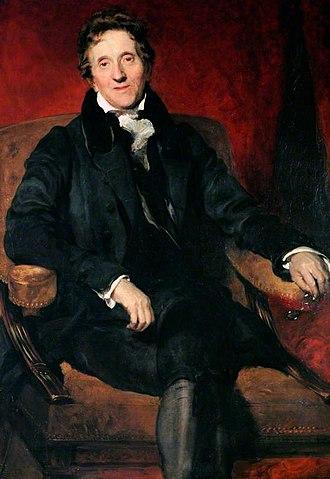 John Soane - Portrait painted by Thomas Lawrence