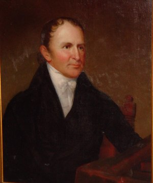 Thomas Worthington (governor) - Image: Thomas Worthington at statehouse