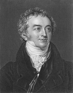 Thomas Young coined the term index of refraction. Thomas Young (scientist).jpg