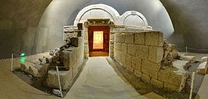Thracian Tomb of Sveshtari - The interior of the tomb