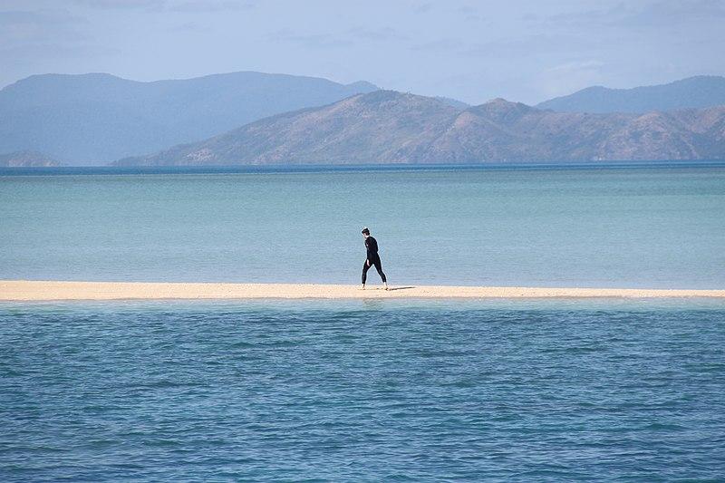 Datei:Tidal sandbank in the Whitsunday Islands.JPG