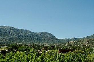 Carnuel, New Mexico - Carnuel in Tijeras Canyon.