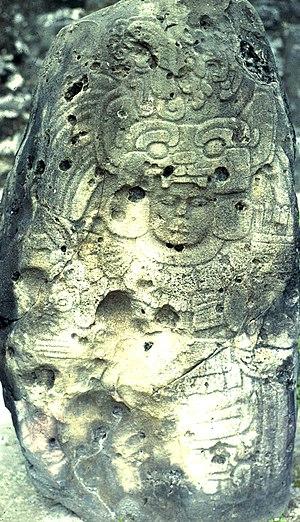 Yax Nuun Ahiin I - Stela 4 at Tikal names Yax Nuun Ahiin I