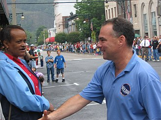 Tim Kaine - Kaine at the Covington Labor Day Parade in Virginia, September 4, 2006