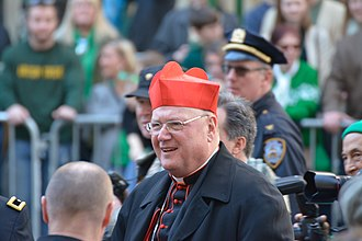 Timothy M. Dolan - Dolan at the Saint Patrick's Day Parade in New York