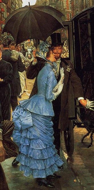 1880s in Western fashion - Paris fashion, 1883–85.