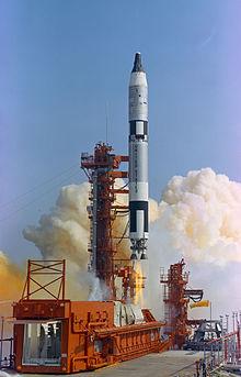 Un razzo Titan II durante il lancio