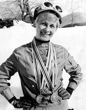 1968 Winter Olympics medal table - Swedish cross-country skier Toini Gustafsson nearly matched Killy's feat, as she won both individual events but had to settle for a silver medal in the relay.