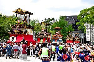 Karakuri puppet - Dashi karakuri of the Tsutsui-chō/Dekimachi tennōsai in Nagoya.