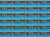Tokyo blue facade at Nishifukawa Bridge 1074.jpg