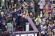 Tom Brady with Vince Lombardi trophy
