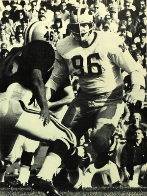 Tom Mack - Mack from the 1966 Michiganensian